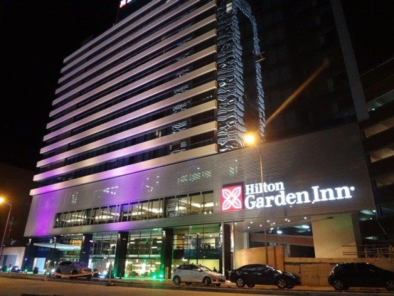 El nuevo Hilton Garden Inn de Montevideo fue inaugurado este jueves.