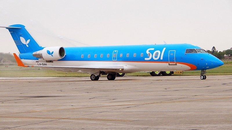 Sol Líneas Aéreas suma vuelos para la temporada de verano.