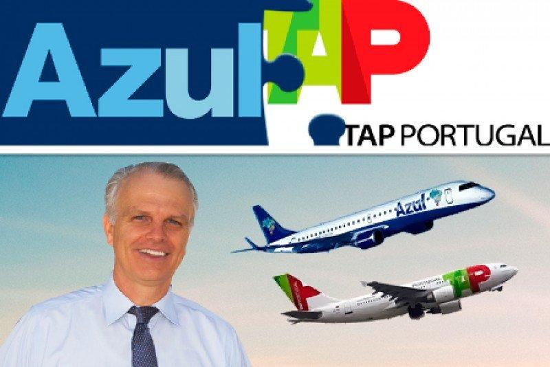 Aerolínea portuguesa TAP multiplica destinos en Brasil al aliarse con Azul
