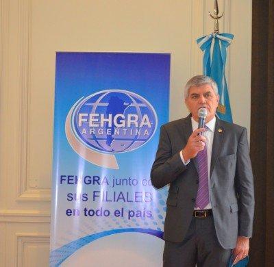 Roberto Brunello, presidente FEHGRA.