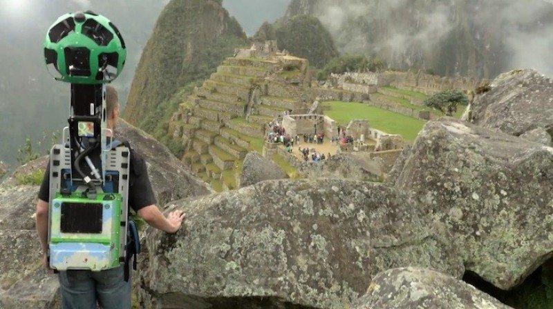 Machu Picchu ya puede ser recorrido mediante Google Street View.