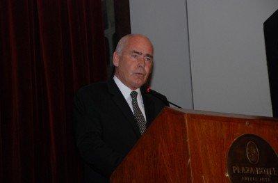 Enrique Meyer en la cena de fin de año de la Cámara de Turismo de Argentina. (Foto: CAT).