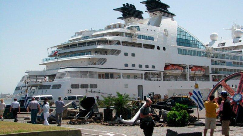 Uruguay espera 170 cruceros y más de 300.000 pasajeros.