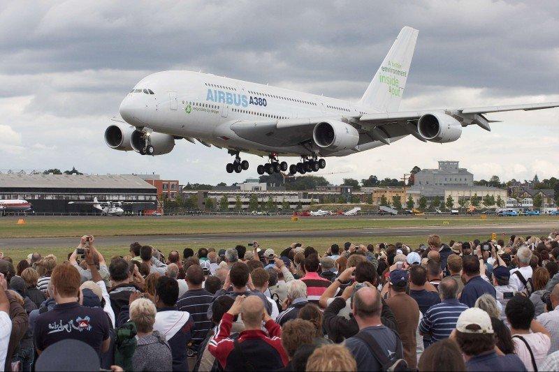 Airbus supera 1.000 aviones vendidos en 2015