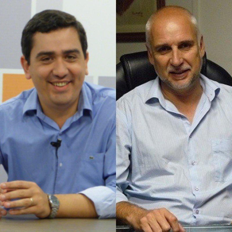 José María Arrúa (Misiones) y Julio Bañuelos (Córdoba).