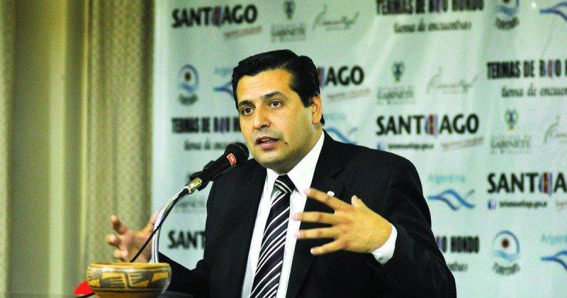 Ricardo Sosa, ministro de turismo de Santiago del Estero.