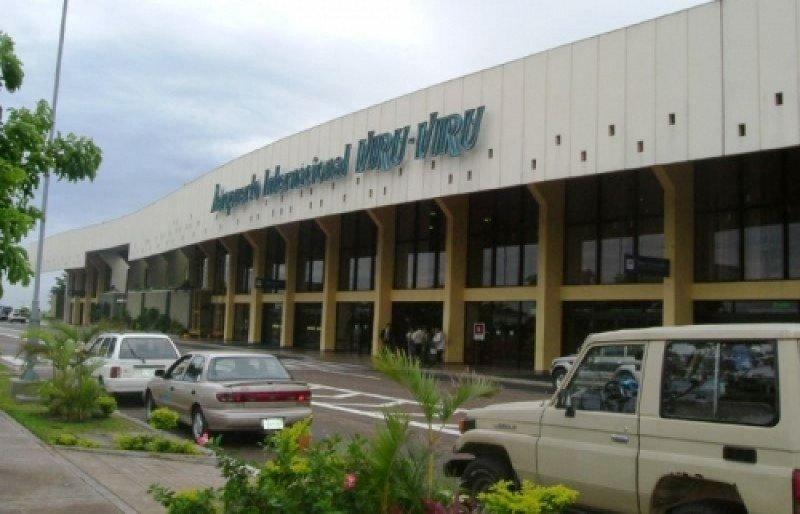 Aeropuerto Internacional de Santa Cruz de la Sierra.