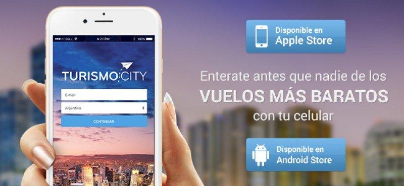 Turismocity ya cuenta con aplicación para hacer reservas desde smartphones.