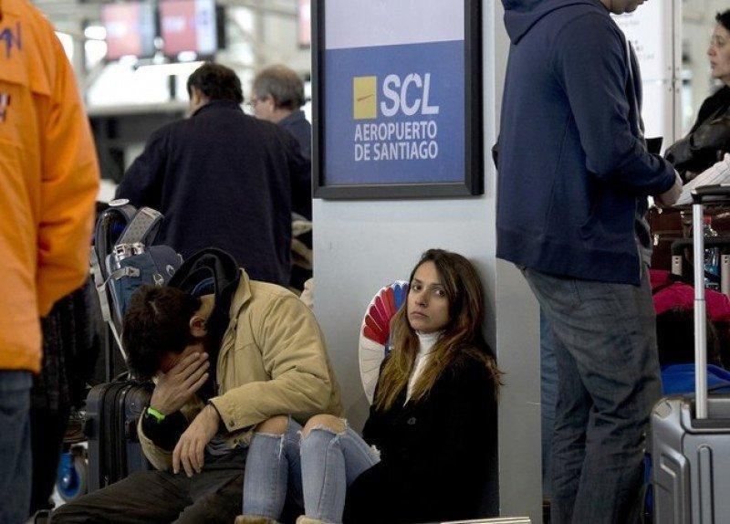 Huelga de cuatro días afectó a 12 aeropuertos de Chile