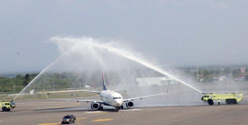 Delta Airlines inaugura vuelo entre Atlanta y Cartagena de Indias