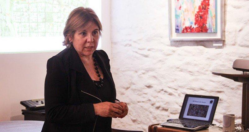 Adriana Careaga, presidenta del Conglomerado de Turismo de Montevideo. Foto: Universidad Católica.