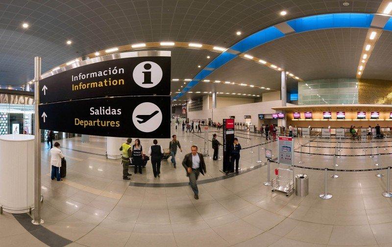 Aeropuerto Internacional Eldorado.