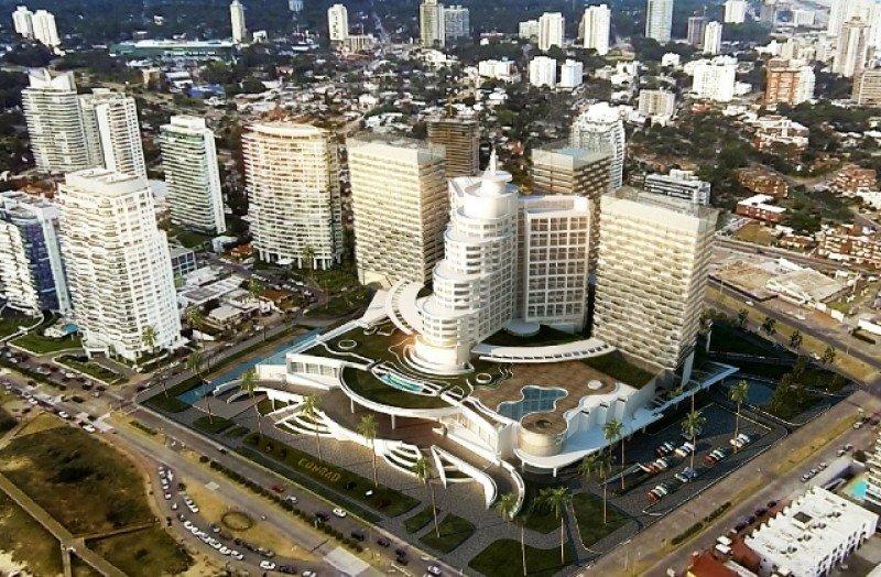 Render del proyecto de ampliacion del hotel Conrad.