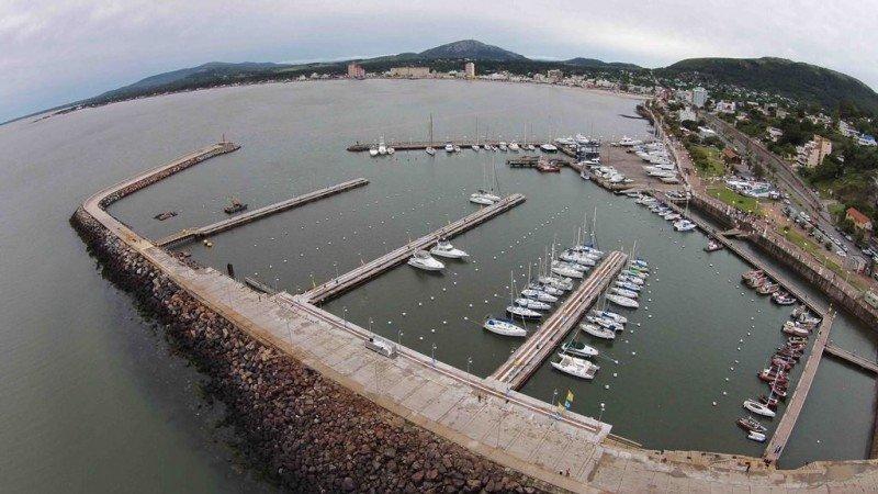 Nuevas marinas del puerto de Piriápolis.