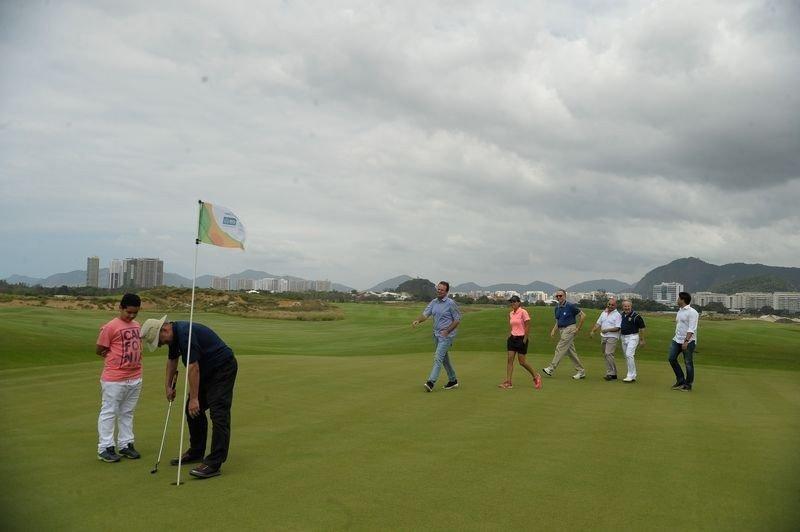Campo de Golf en Barra da Tijuca, donde se recibirán dos nuevos hoteles. (Foto: Agencia Brasil/Tânia Rêgo).