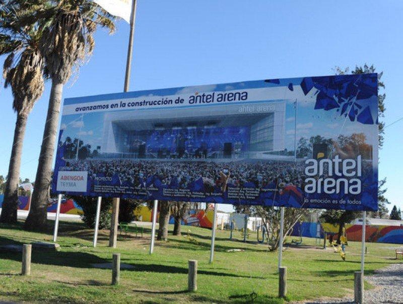 Complejo Antel Arena consigue crédito de US$ 58 millones con Banco Santander