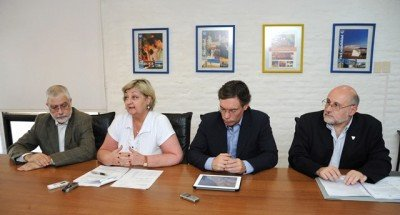 Autoridades de Turismo y Economía en el anuncio de las medidas.