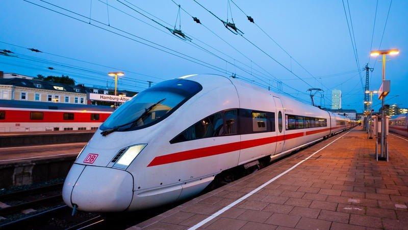 Huelga trenes belgas impactará el tráfico internacional. En la foto, tren de alta velocidad InterCityExpress (ICE).