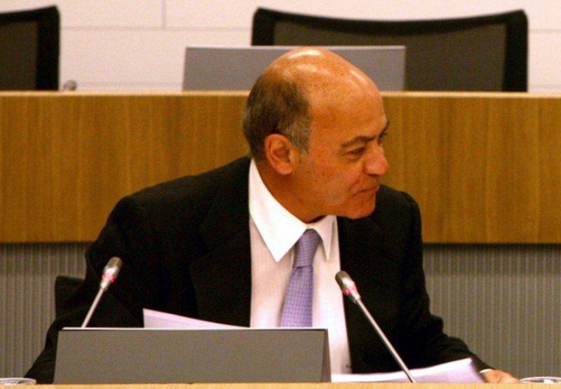 Diaz Ferrán durante un acto en 2010.