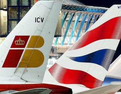Iberia registró un aumento del 1,38% en la demanda y British Airways, del 2,6%.
