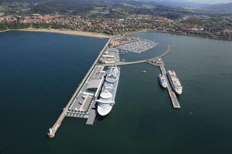 La nueva terminal de cruceros de Getxo contará con una inversión de 4,6 M €