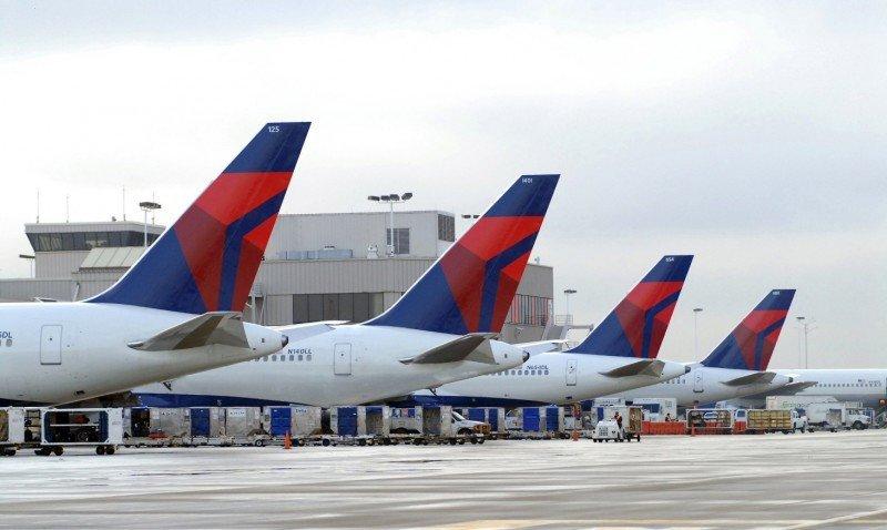 Delta Airlines transportó a más de 179 M de pasajeros en 2015