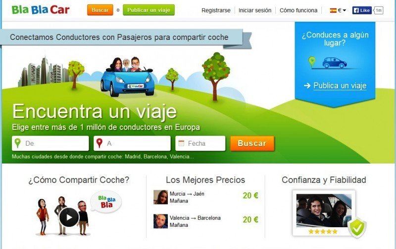 BlaBlaCar adquiere una P2P homóloga para entrar en República Checa y Eslovaquia