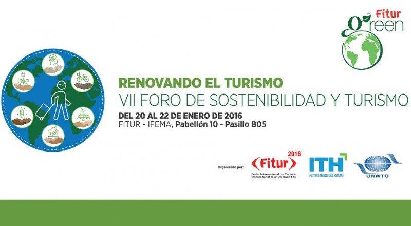 El VII Foro de Sostenibilidad y Turismo se celebra del 20 al 22 de enero en Fitur.