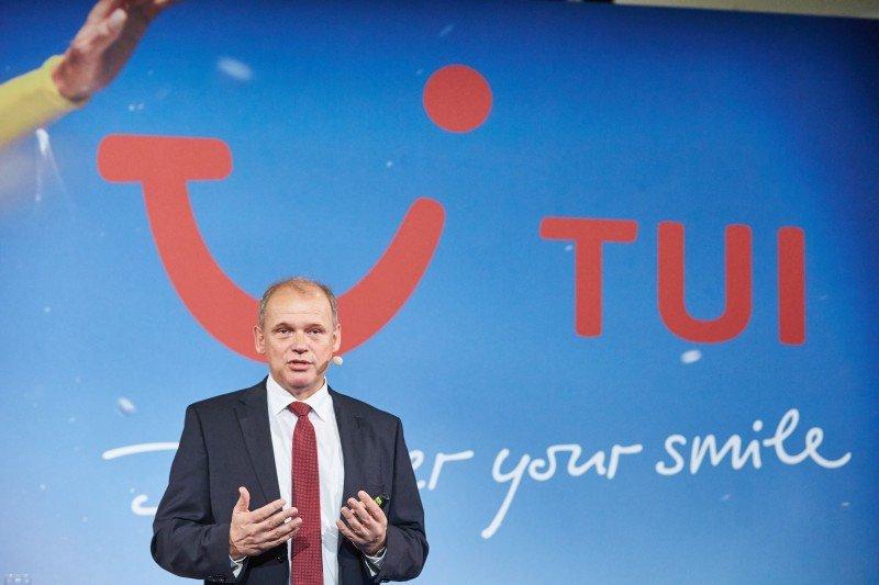 Sebastian Ebel, CEO de TUI Alemania.