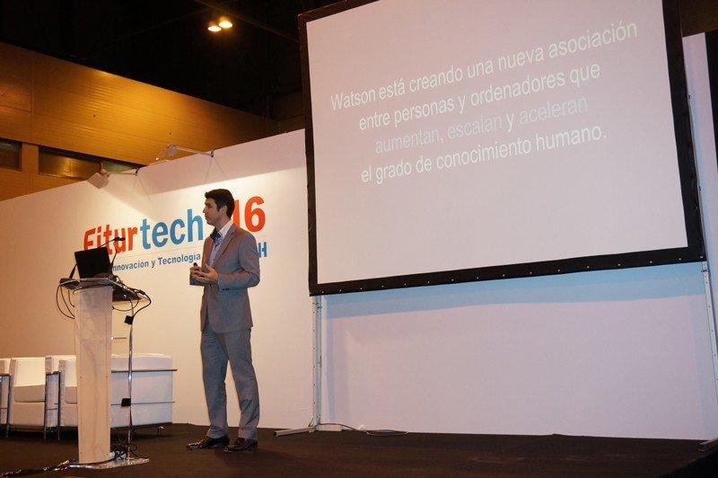 Raúl Bartolomé, IBM: FiturTech 2016