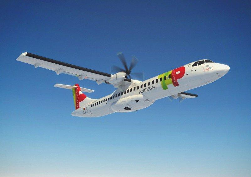El ATR 72 será el modelo de la nueva flota de TAP Express.