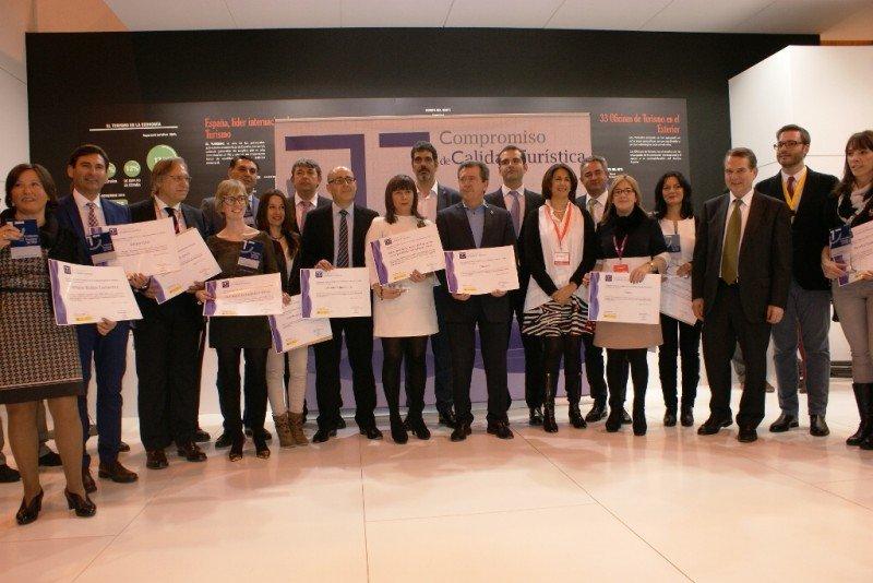 Entrega de los premios SICTED en Fitur 2016