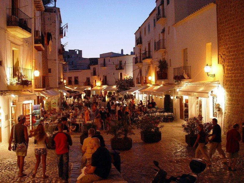 Una imagen de Ibiza.