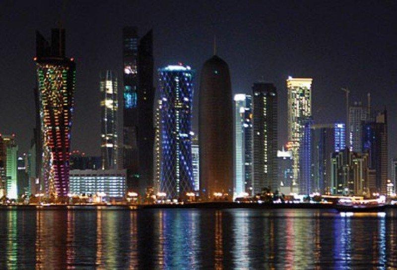 Rascacielos en Qatar.