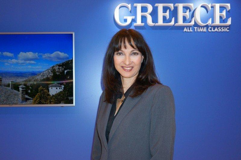 Elena Kountoura, ministra de Turismo de Grecia. Foto: Hosteltur
