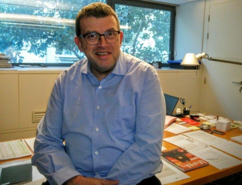 Jordi William Carnes, director de Turisme de Barcelona.
