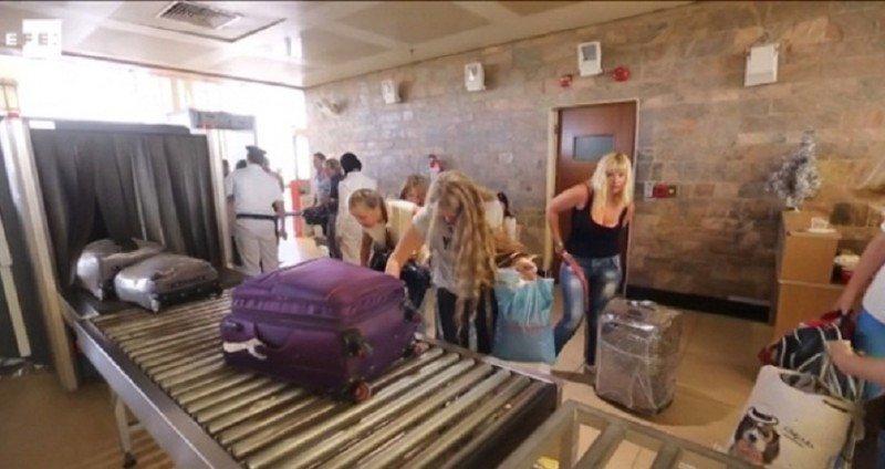 Aeropuerto de Sharm El Sheikh, de donde partió el avión de Metrojet con una bomba en su interior.