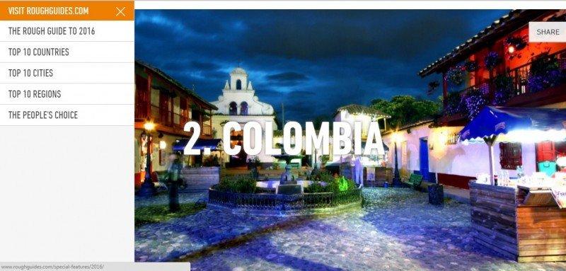 El Salvador, Colombia y Cuba en top 10 de destinos de revista inglesa