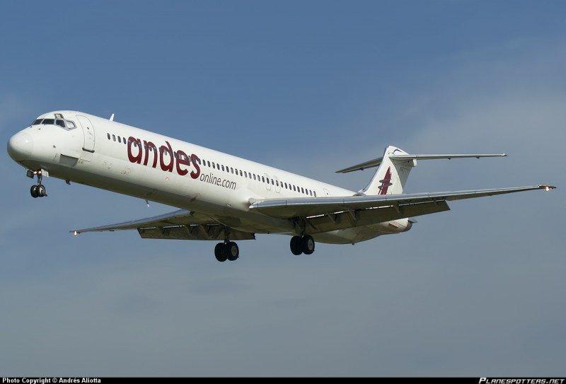 Andes con seis vuelos entre Buenos Aires, Puerto Madryn y Comodoro Rivadavia.