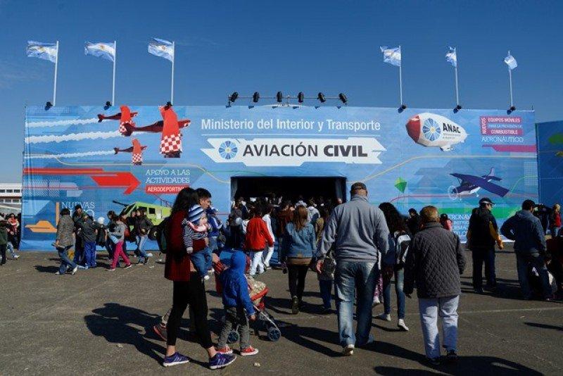 Administración Nacional de Aviación Civil de Argentina.