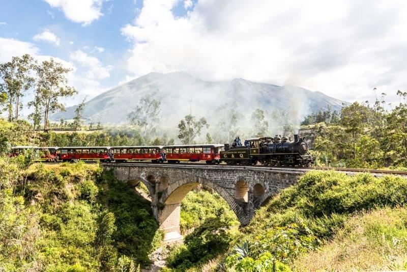 Los trenes de Ecuador tuvieron una ocupación del 90% durante los días festivos.