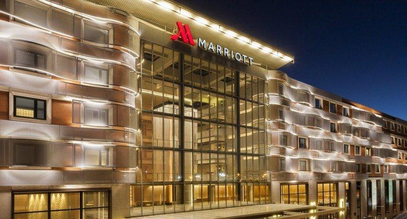 Marriott pone a nuevo el antiguo Hotel Auditorium de Madrid