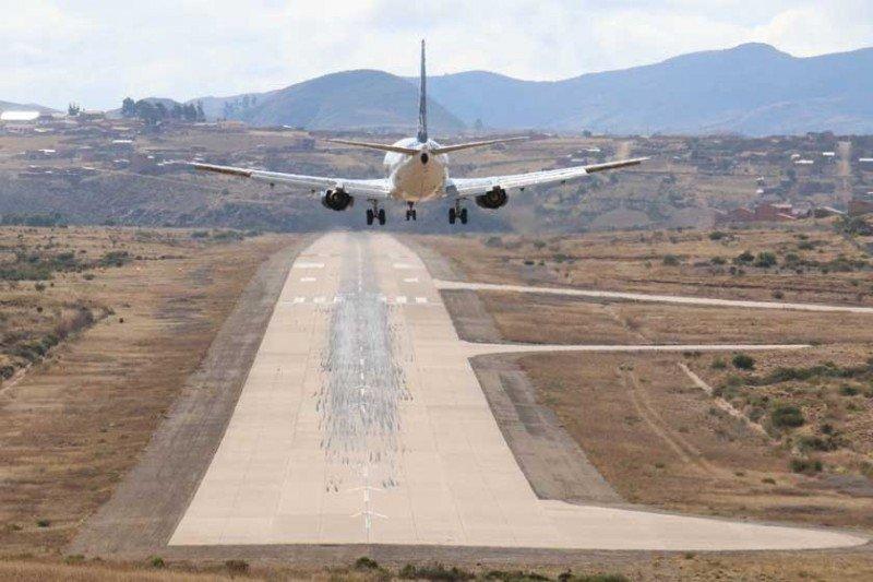 Transporte aéreo crece 22% en Bolivia