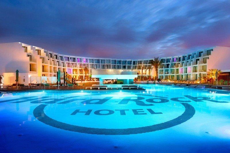 Hard Rock Ibiza, inaugurado en 2014.