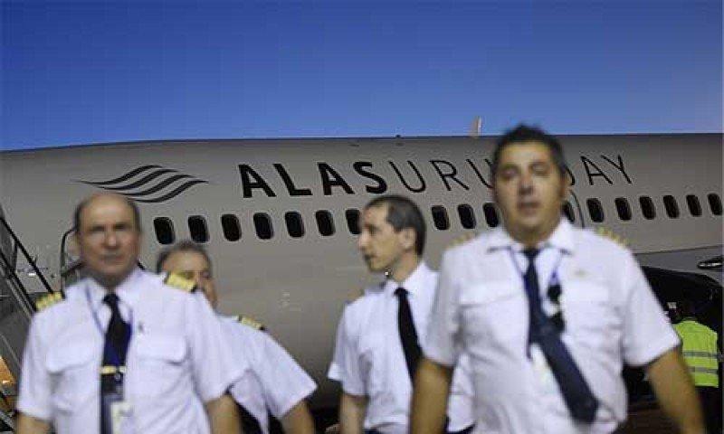 Alas Uruguay inaugura sus vuelos con tarifas 80% por debajo del mercado