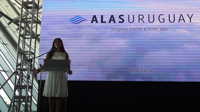 Sabrina Acevedo, presidenta del directorio de Alas Uruguay.