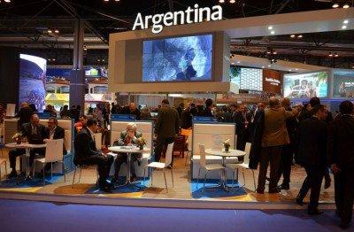 Stand de Argentina en FITUR 2016.