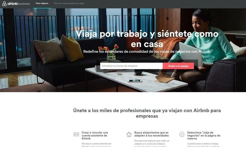 Airbnb multiplica por diez el número de compañías usuarias de la plataforma