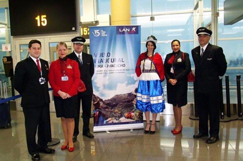 La ruta fue inaugurada hace un año y medio, y salta de tres a 14 vuelos semanales. Foto: T News
