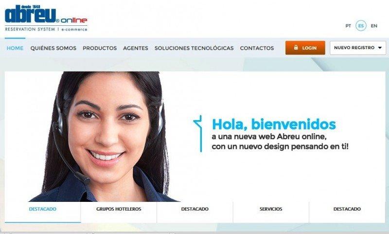 Nueva imagen de la web de Abreu Online.